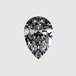 Premium Quality 1 1/2ct Loose Pear Cut Diamond (HI - SI2)