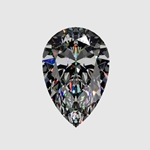 Pemium Quality 2ct Loose Pear Cut Diamond (HI - SI2)