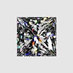 Premium Quality 1 1/2ct Loose Princess Cut Diamond (HI - SI2)